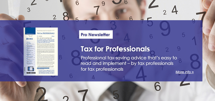 Tax for Professionals