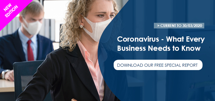 Download our special free report about Coronavirus