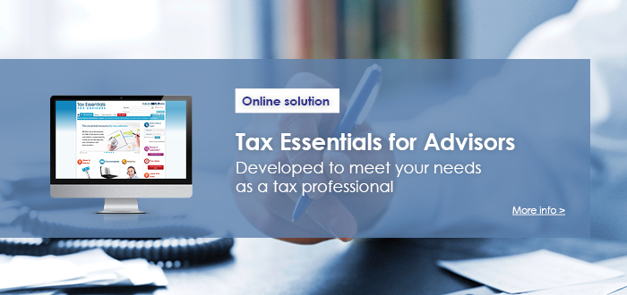Tax Essentials for Advisors