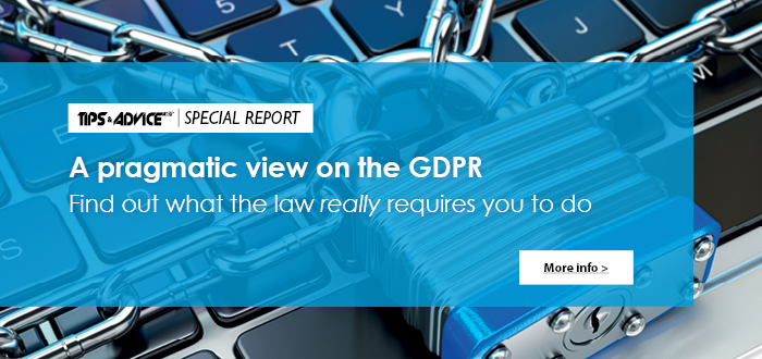 GDPR - What the Law Really Requires You to Do